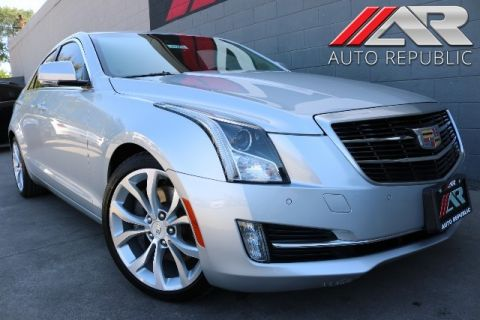 Pre-Owned 2015 Cadillac ATS Sedan Performance RWD