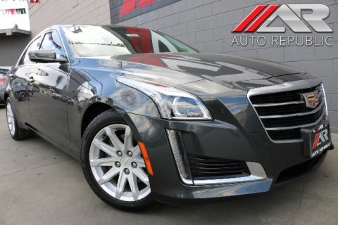Pre-Owned 2015 Cadillac CTS RWD