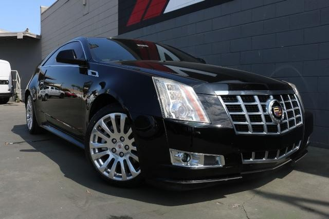 Pre-Owned 2014 Cadillac CTS Coupe Premium