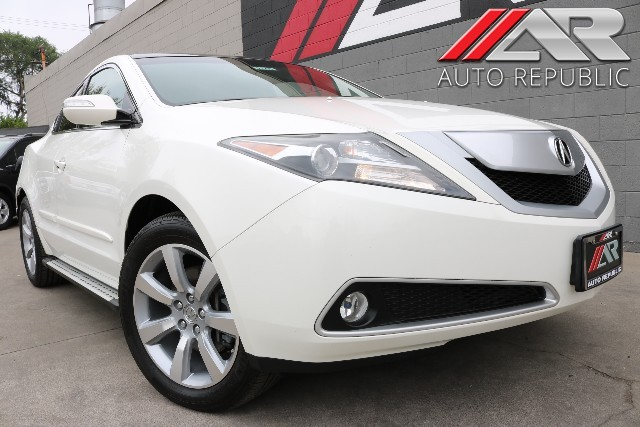 Pre-Owned 2012 Acura ZDX Tech Pkg