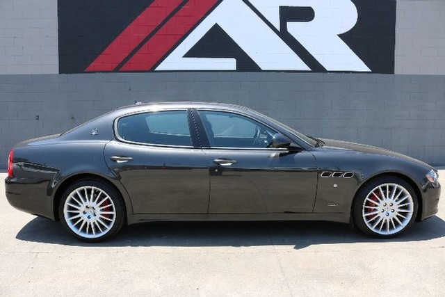 pre-owned 2012 maserati quattroporte s four-door sedan in fullerton