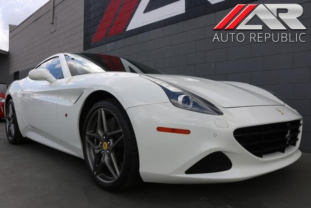 Ferrari California T >> Pre Owned 2016 Ferrari California T Convertible In Fullerton 22982