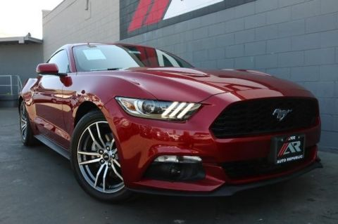 Pre-Owned 2017 Ford Mustang EcoBoost Premium