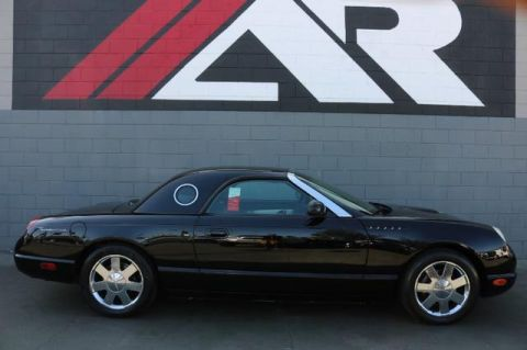Pre-Owned 2002 Ford Thunderbird w/Hardtop Premium