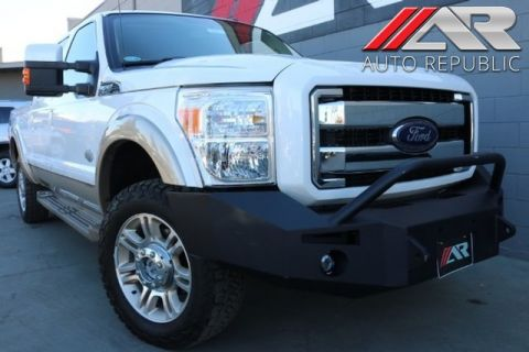 Pre-Owned 2012 Ford Super Duty F-250 KING RANCH 4WD DIESEL
