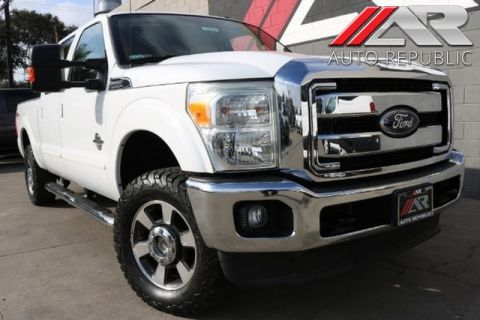 Pre-Owned 2011 Ford Super Duty F-250 LARIAT 4WD DIESEL