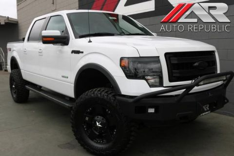 Pre-Owned 2014 Ford F-150 FX4 TURBO CHARGED 4WD