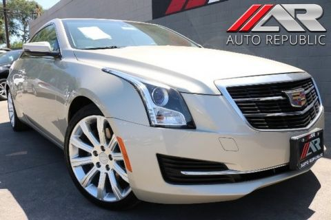 Pre-Owned 2015 Cadillac ATS Coupe Standard RWD