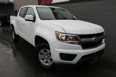 Pre-Owned 2016 Chevrolet Colorado 2WD Work Truck Crew Cab