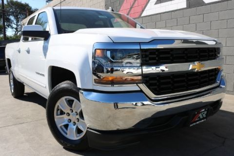 Pre-Owned 2018 Chevrolet Silverado 1500 2WD LT w/1LT Double Cab