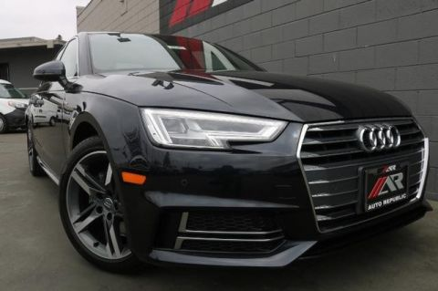 Pre-Owned 2018 Audi A4 ultra Premium Plus