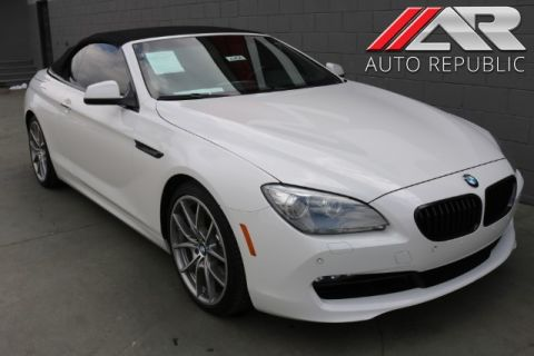 Pre-Owned 2012 BMW 6 Series 650i